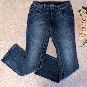 Maurices Medium/Dark Wash Bootcut Jeans 10R